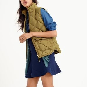 J Crew Excursion Vest in Green Size XS